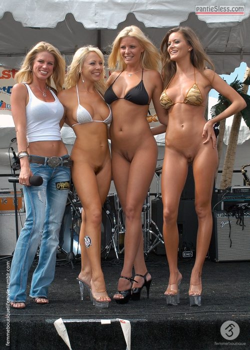 bottomless oramixbottomlessoramix:The girl band No Panties Allowed is...