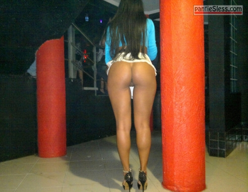 public flashing prostitute ebony bottomless ass flash  Ebony girl bottomless in high heels flashes perfect round ass